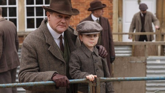 Downton Abbey S6 E2 (Robert and George)