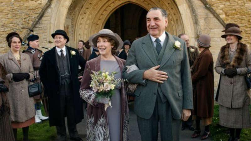 Downton Abbey S6 E3 (Hughes and Carson Wedding)