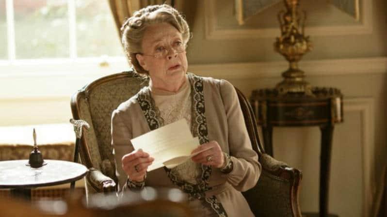 Downton Abbey S6 E5 (Violet)