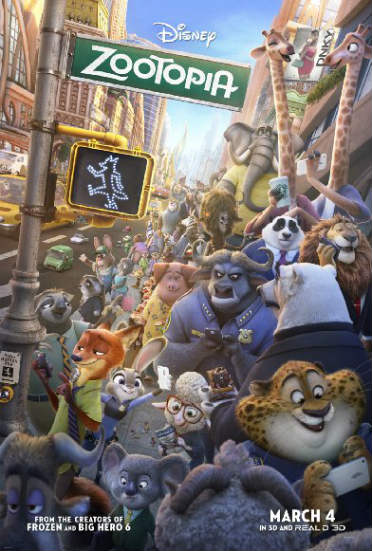 most anticipated animated movies of 2016 zootopia