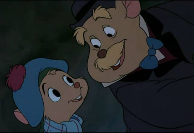 Olivia and Dr. Dawson The Great Mouse Detective
