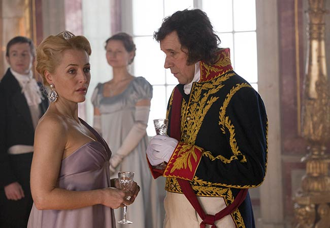 War and Peace and Gillian Anderson