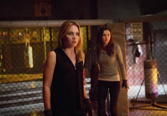 Trouble for Hayley and Cami in Heart Shaped Box.