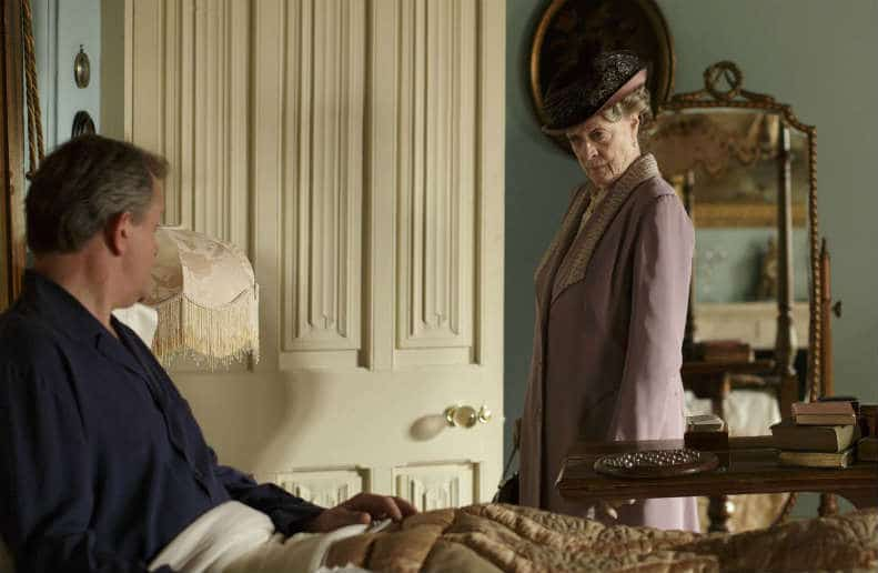 Downton Abbey S6 E6 (Lord Grantham and Violet)