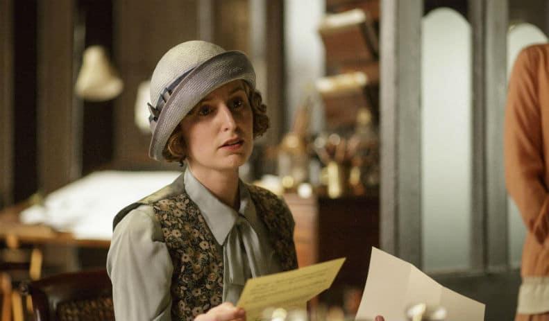 Downton Abbey S6 E7 (Edith)