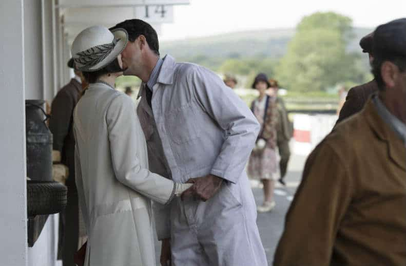 Downton Abbey S6 E7 (Mary and Henry Kiss)