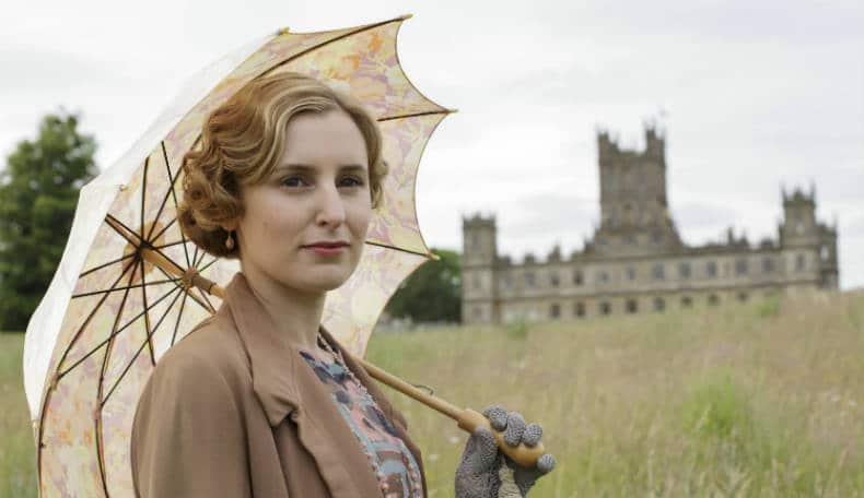Downton Abbey S6 E8 (Lady Edith)