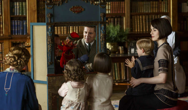 Downton Abbey S6 E8 (Puppet Show)