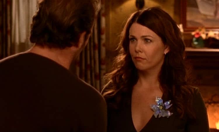 Gilmore Girls Screencap11 Luke and Lorelai