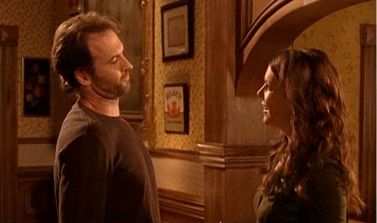 Gilmore Girls Screencap2 Luke and Lorelai