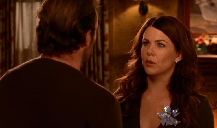 Gilmore Girls Screencap4 Luke and Lorelai