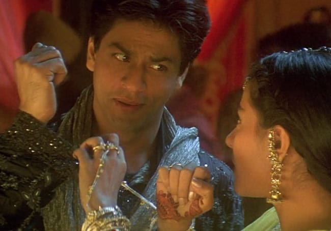 Anajil and Rajul. romantic bollywood film