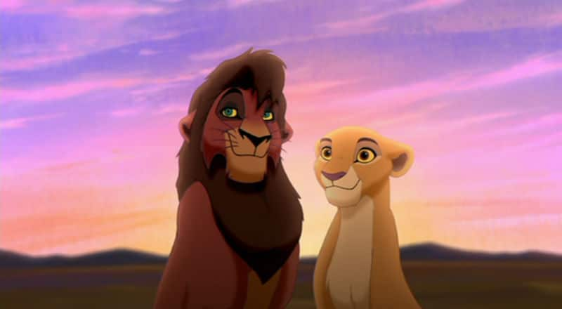 A Couple To Root For Kiara Kovu From The Lion King Ii