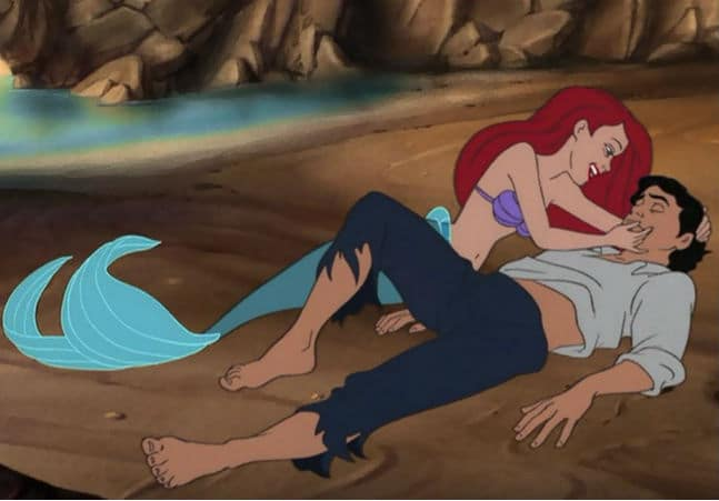 ariel sings 2 the little mermaid; fairy tales