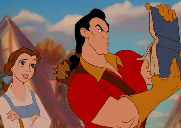 Belle and Gaston Photo: Disney
