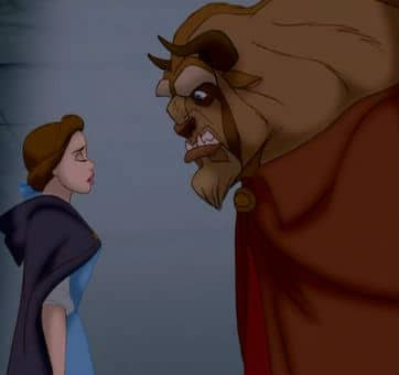 Belle and Beast Make a Deal Photo: Disney