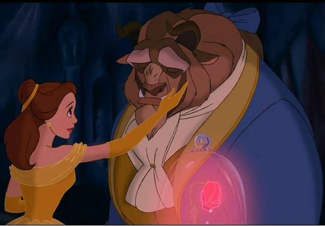 Beast Frees Belle Photo: Disney