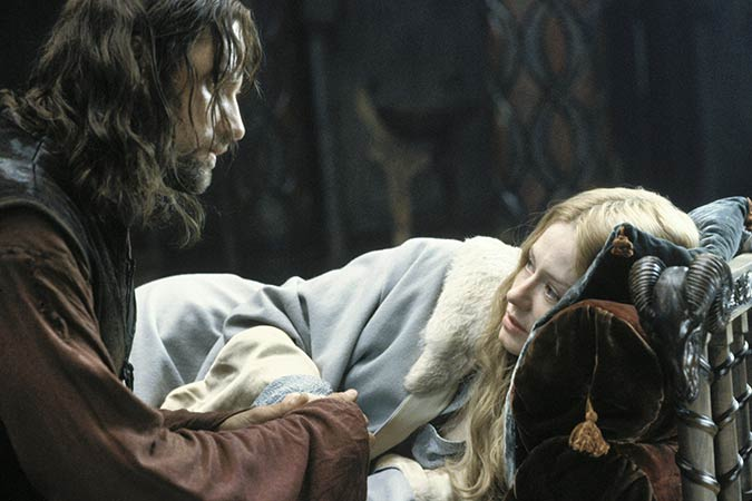 Eowynvand Aragorn in Return of the King. Photo: New Line Productions