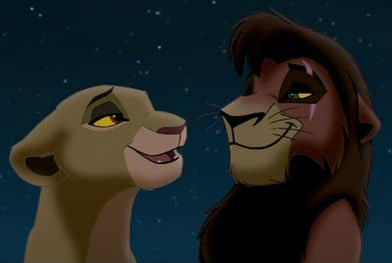 lion king 2 kovu and kiara related