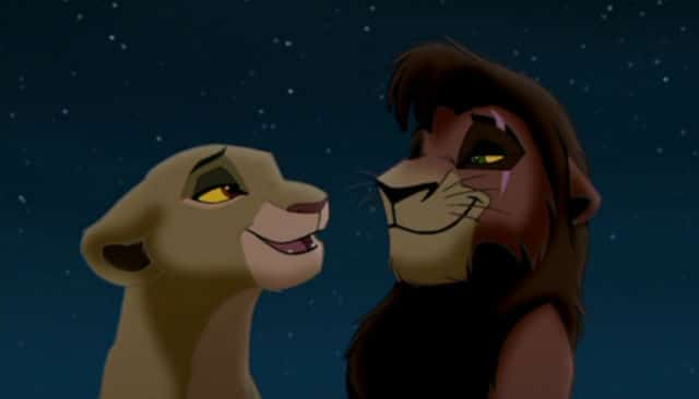 A Couple to Root For - Kiara & Kovu from The Lion King II