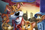 oliver & company cover dvd