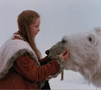 The Princess and Valemon from The Polar Bear King