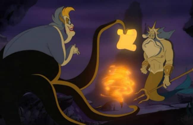 Triton Takes Ariel's Place