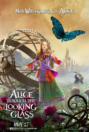 Alice Through the Looking Glass Poster Spring 2016 Box Office Preview