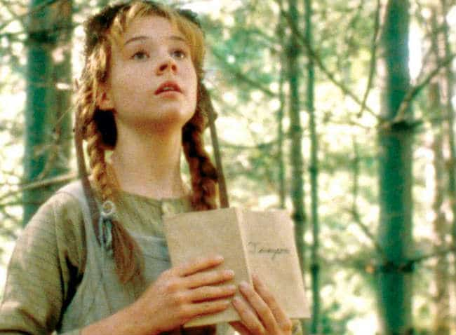 Megan Follows in Anne of Green Gables; Films Featuring Writers List