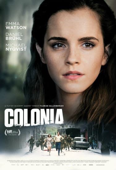 Colonia Movie poster Spring 2016 Box Office Preview