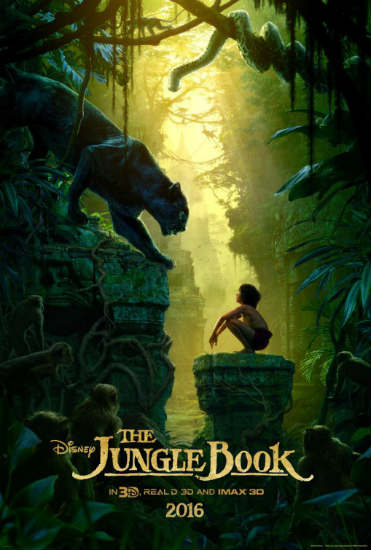 Disney's The Jungle Book Poster Spring 2016 Box Office Preview