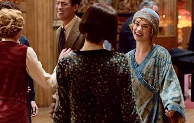 Downton Abbey S6 Finale (Rose Arrives)