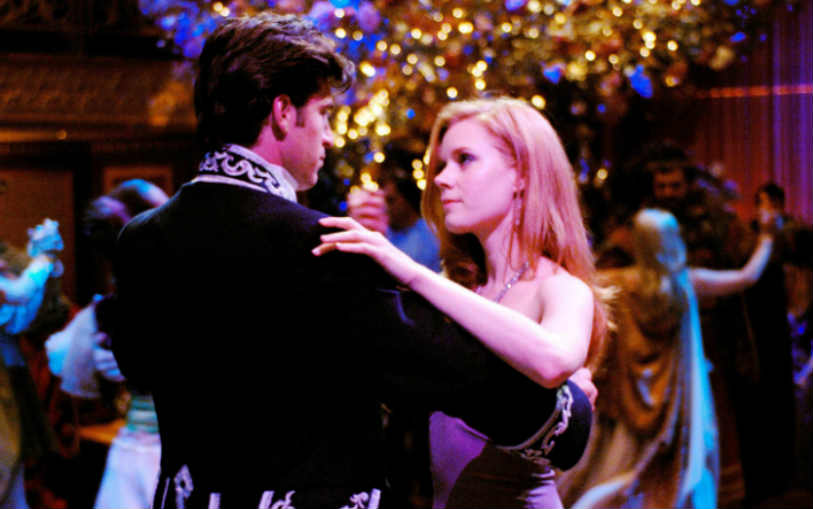 Enchanted Robert and Giselle's (Amy Adams) First Dance