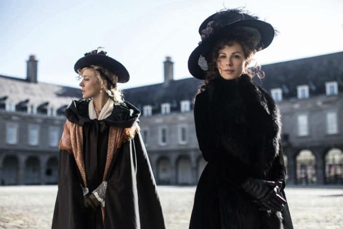 "Chloë Sevigny and Kate Beckinsale in ""Love & Friendship."" | Spring 2016 Box Office"