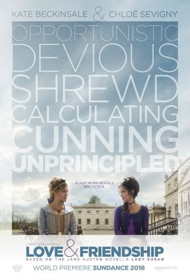 Love and Friendship Poster Spring 2016 Box Office Preview