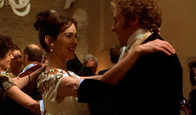 Mansfield Park - Edmund and Fanny's first dance