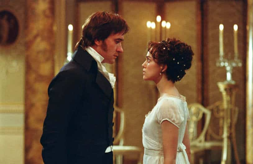 Pride and Prejudice (2005) Lizzi and Darcy (Matthew McFayden) Dance