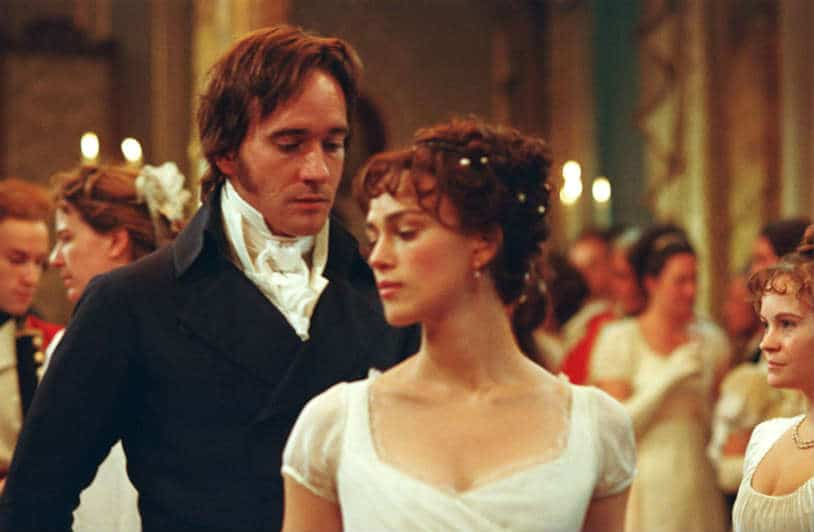 Pride and Prejudice (2005) Lizzie (Kiera Knightley) and Darcy's first dance