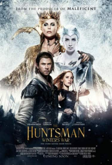 The Huntsman Winter's War Poster Spring 2016 Box Office Preview