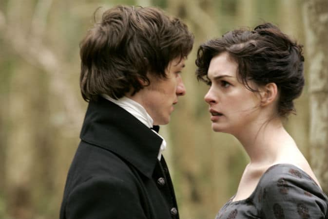 Tom and Jane conflict in Becoming Jane