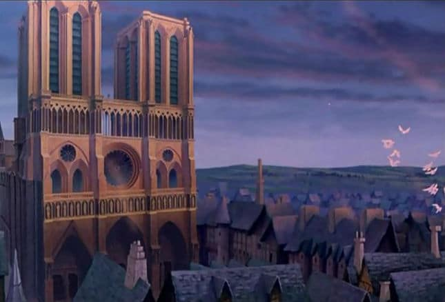 Notre Dame and Paris Photo: Disney