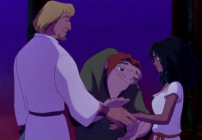 Quasimodo and His Friends Photo: Disney