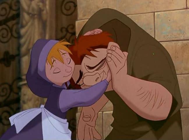 The Little Girl Hugs Quasi Photo: Disney