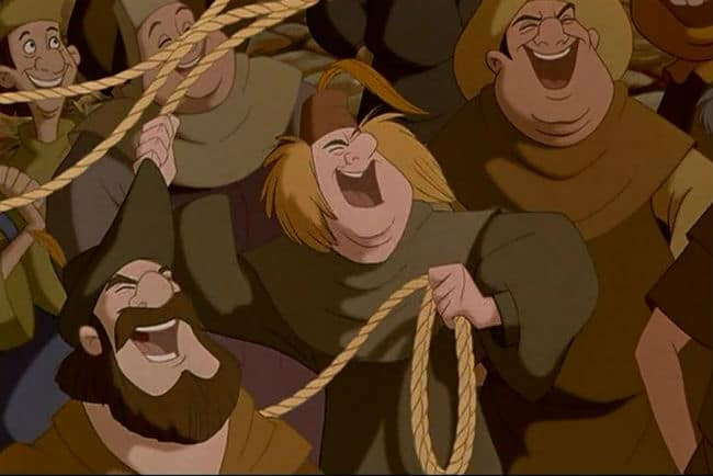 The Mob Turns Photo: Disney