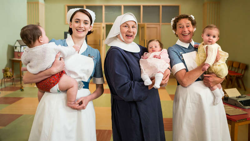 Call the Midwife S5 E2 Cast Photo