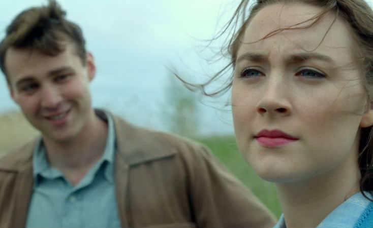 Saoirse Ronan in Brooklyn Movie Image2 Eilis and Tony