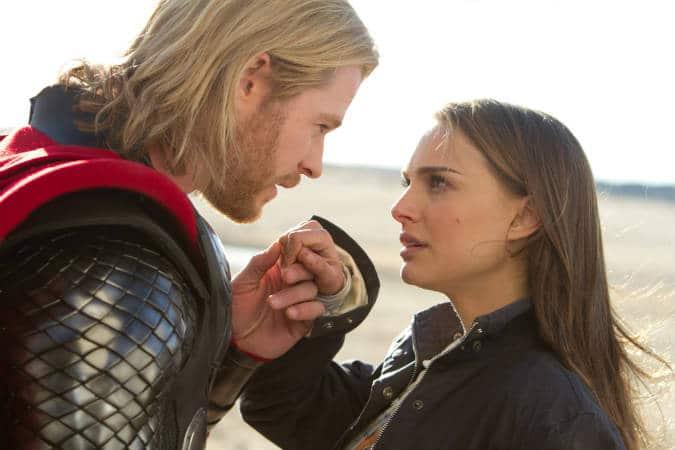 Thor and Jane. Photo: Marvel/Paramount; prince charming list