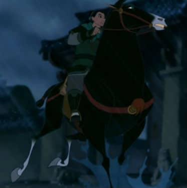Mulan Leaves Photo: Disney