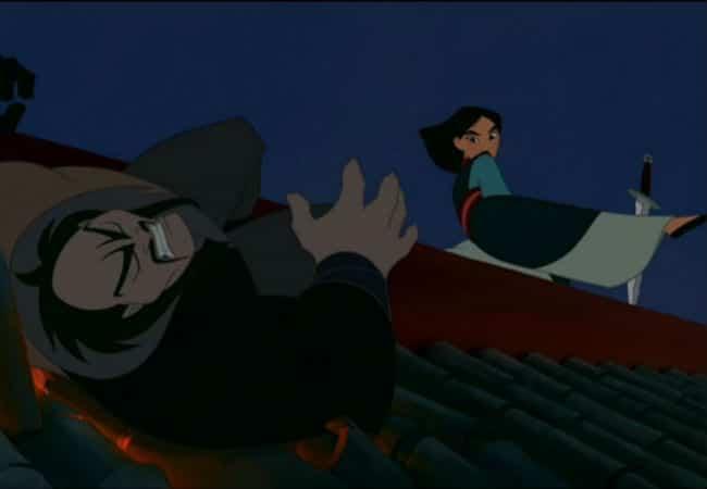 Mulan Defeats Shan Hu Photo: Disney
