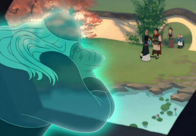 Mulan's Ending Photo: Disney